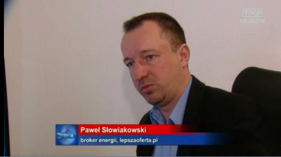 tvp krakow Paweł Słowiakowski o LepszaOferta.pl